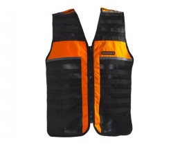 GILET CHASSE FLUO TACTIQUE